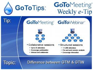 gotomeeting vs gotowebinar