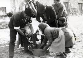 Recreación de Matanza Tradicional el 14 de Marzo en Uclés (Cuenca)