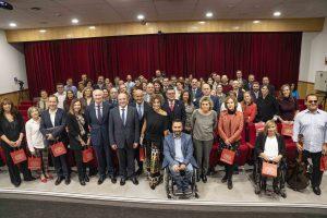 Fundación ONCE reconoce el compromiso con la discapacidad de medio centenar de entidades