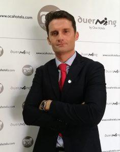 Nuevo asociado Laureano Crespo Trujillo, hotel Oca Puerta del Camino