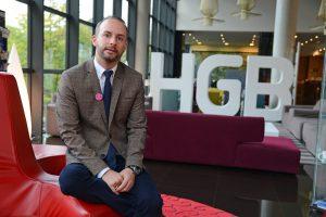 Nuevo asociado a la AEDH, Jorge Alvarez Diéguez, Hotel Gran Bilbao