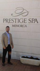 Nuevo asociado, Carlos Lopez Fernandez, Subdirector Insotel Punta Prima de Menorca