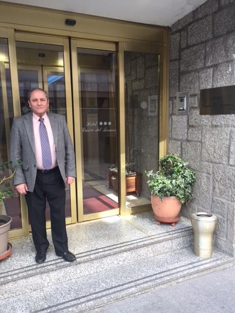Nuevo asociado, Antonio Rodriguez Haro. H Casón del Tormes (Madrid)