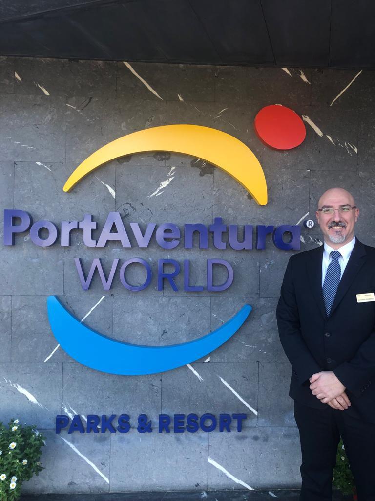 Nuevo asociado, Alfonso Villarejo. Port Aventura