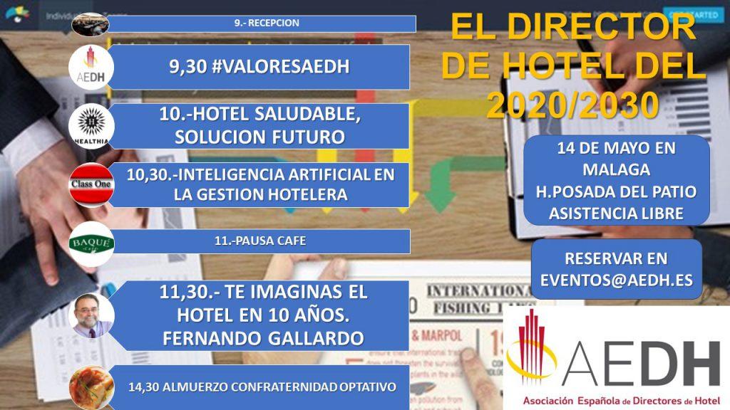 Jornada #VALORESAEDH en Málaga