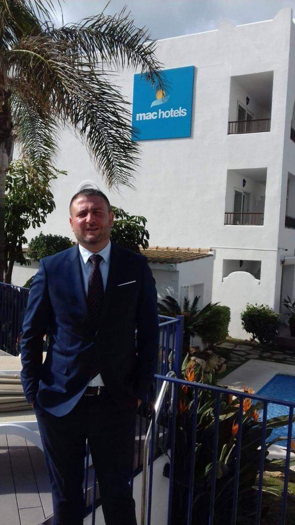 Nuevo asociado Javier Martin Plaza. Hotel Mac Puerto Marina de Benalmádena (Málaga)