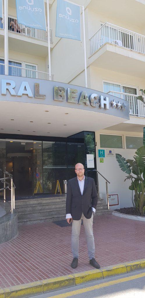 Nuevo asociado Miguel Garcia Cerviá. H.Azuline Coral Beach y Azuline Atlantic. Ibiza