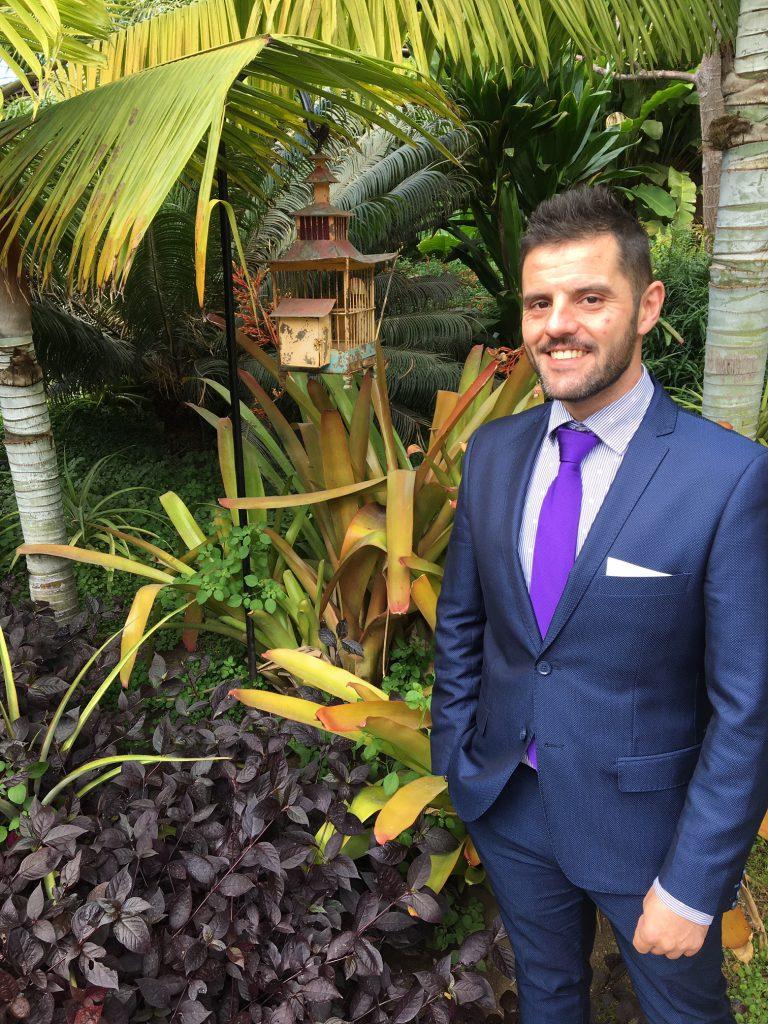 Nuevo asociado Javier Navarro Molina, Director del H. Hacienda de Abajo, Tazacorte (La Palma)