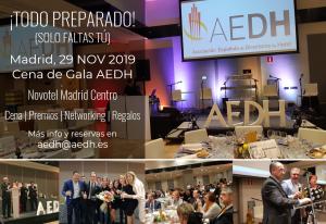 Cena de Gala AEDH