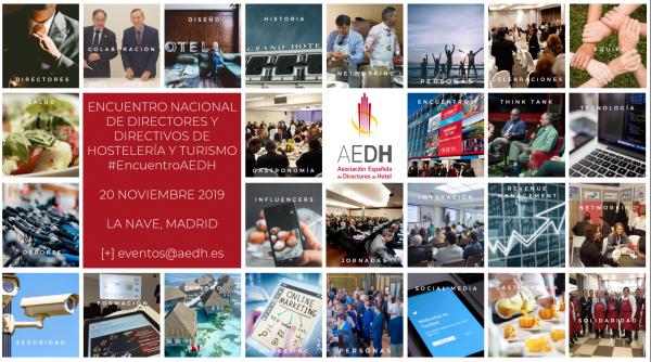 V Encuentro Nacional de Directores y Directivos de Hostelería y Turismo