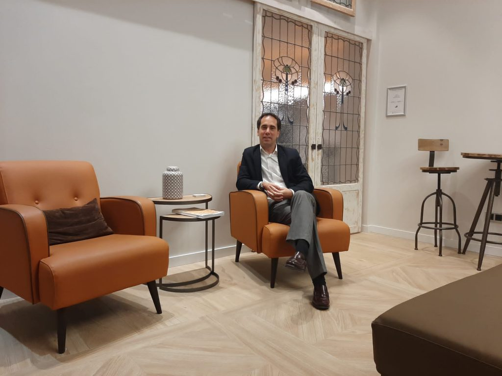 Nuevo asociado JON ZULAIKA ARRIZABALAGA. Director Hotel Arrizul Congress, San Sebastian