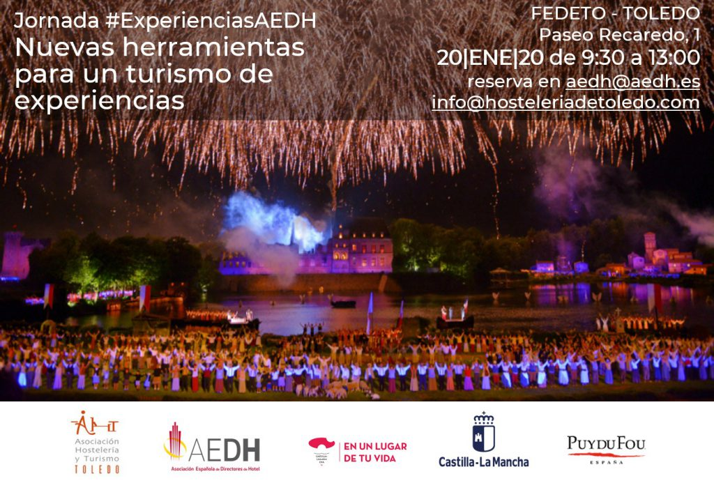 Jornada: Nuevas herramientas para un Turismo de Experiencias #ExperienciasAEDH en Toledo