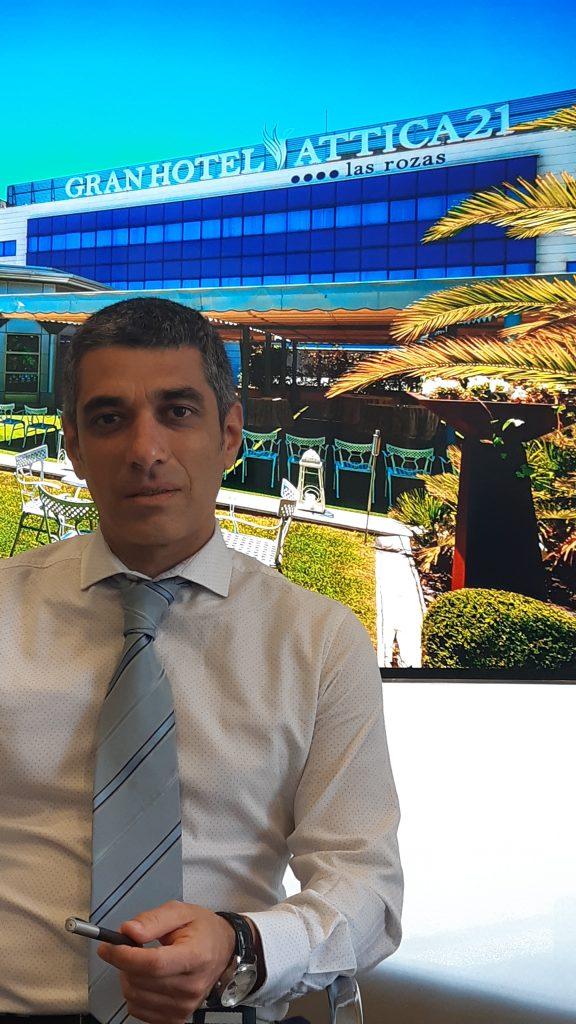 Nuevo asociado David Esteban Servus. Gran Hotel Attica21, Las Rozas (Mad)