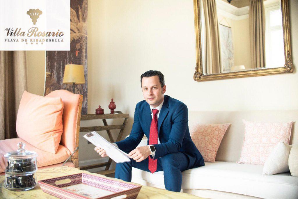 Nuevo asociado Arnaldo Eyaralar Armas, Hotel Villa Rosario Palacete en Ribadesella (Asturias)
