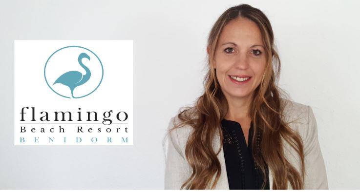 Nueva asociada Eliana Alvarez Fernandez, H. Hotel Flamingo Beach Resort Benidorm (Alicante)