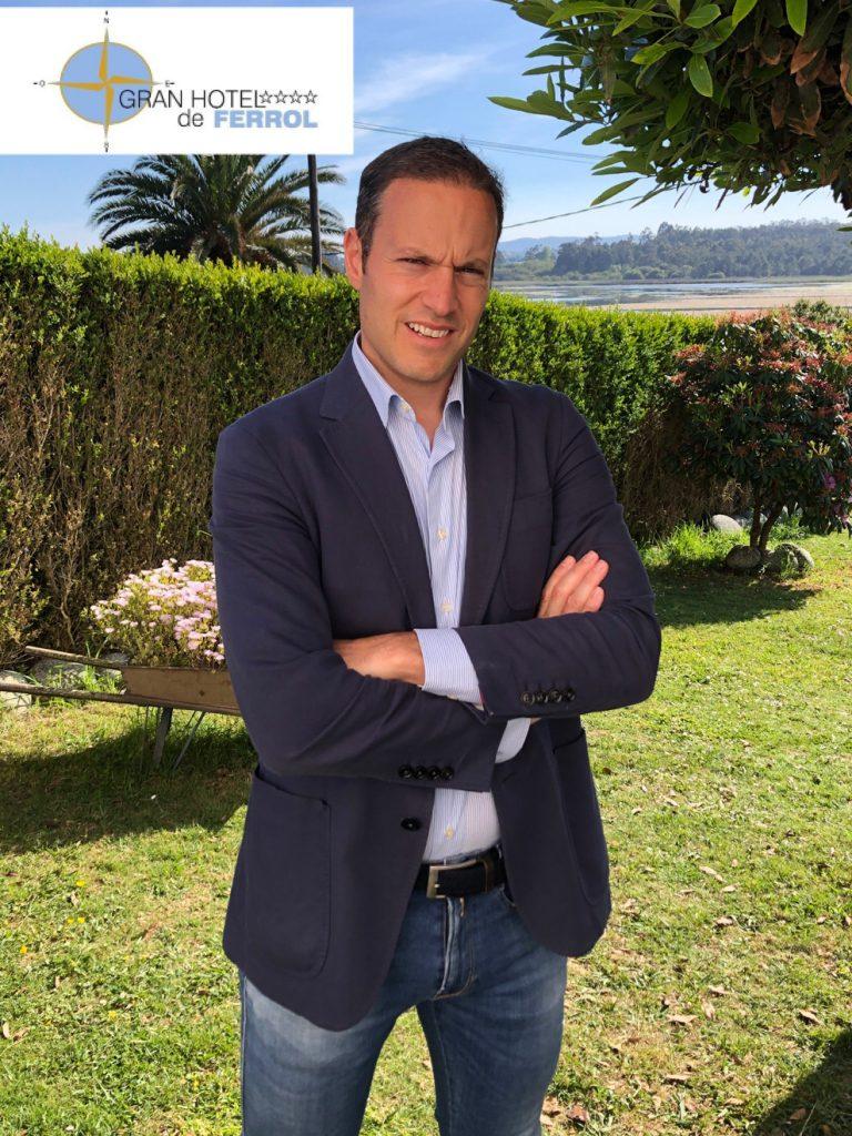 Nuevo asociado Gonzalo Jimenez del Gran Hotel de Ferrol (A Coruña)