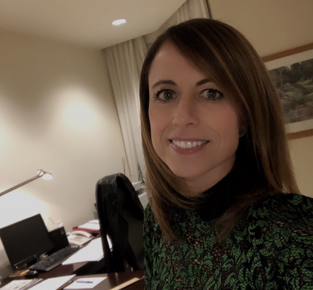 Nueva asociada Eva Magaldi Oria. Gran Hotel Balneario de Puente Viesgo (Cantabria)