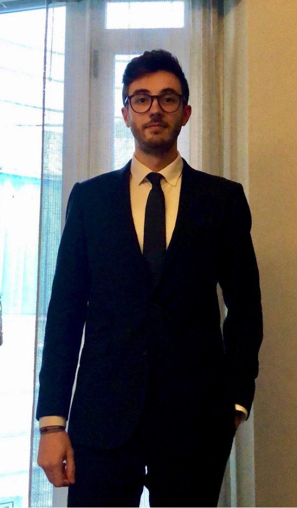Luis Miguel Calderón Velasco. Delegado Juvenil Aedh Castilla León