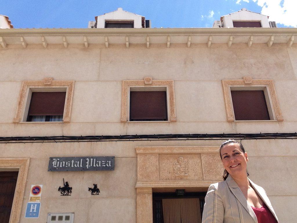 Nueva asociada Patricia Plaza Garcia. H Rural Plaza.Mota del Cuervo (Cuenca)