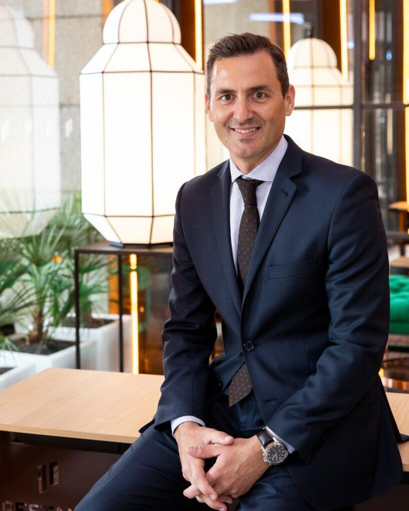 Nuevo asociado Hector Coronel. Director de Turismo Madrid Destinos         ( Ayto Madrid)