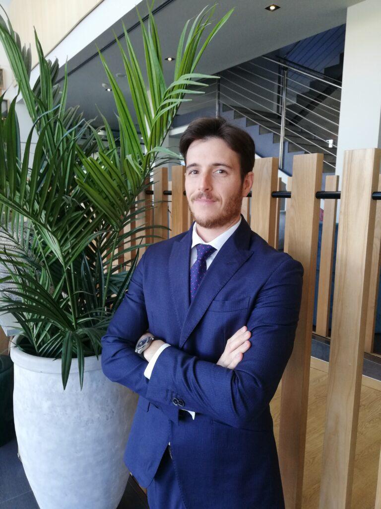 Nuevo asociado Pau Perez Ubach. Subdirector H Vincci Bit & Vincci Maritimo de Barcelona