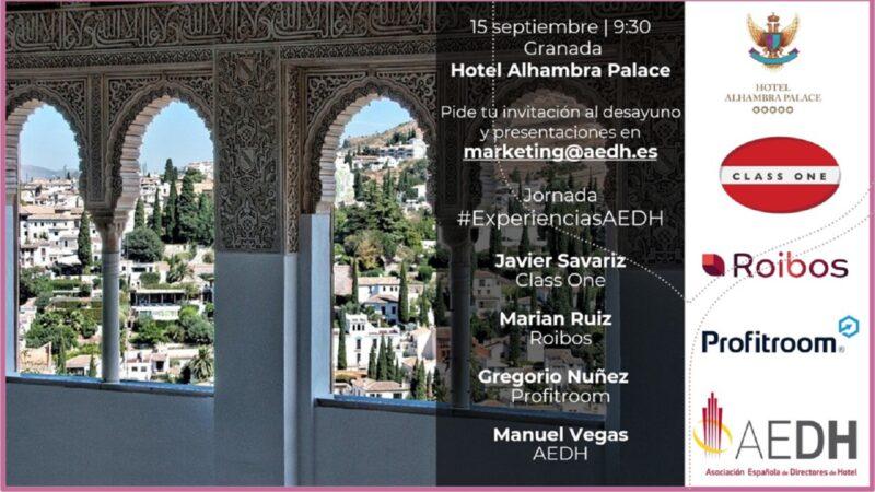 Jornada #ExperienciasAedh en Granada