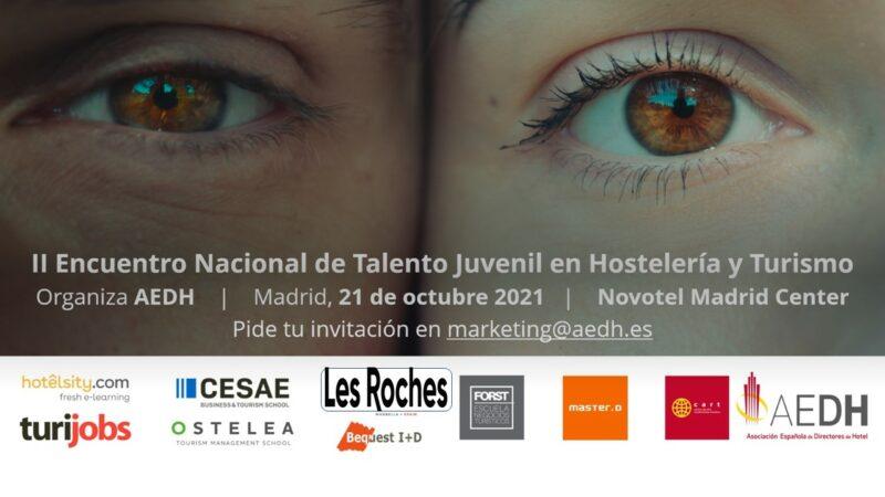 Encuentro Talento Joven Hosteleria y Turismo en Madrid